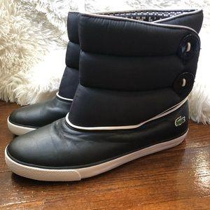 ❄️Lacoste ❄️Bundle Snow Boots Black/White❄️